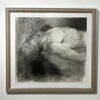 "David Bondar, ""Untitled"", Charcoal on paper, 2012"