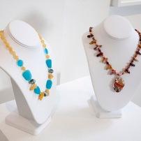 Jeannette Landrie, Handmade necklaces