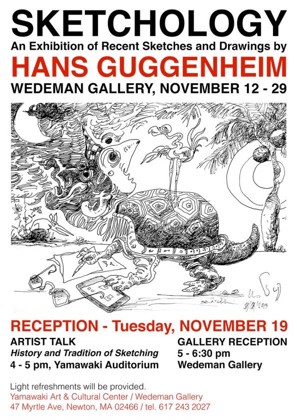 Hans Guggenheim flyer