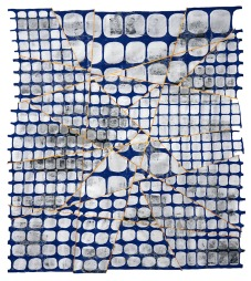 JEANNE WILLIAMSON - Fractured Fence Repaired #6