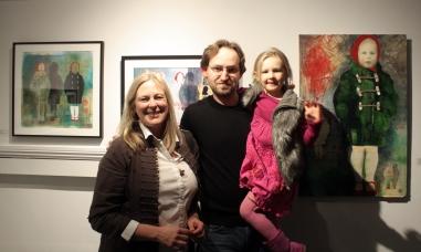 Caroline Bowden, Vladimir and Angela Zimakov