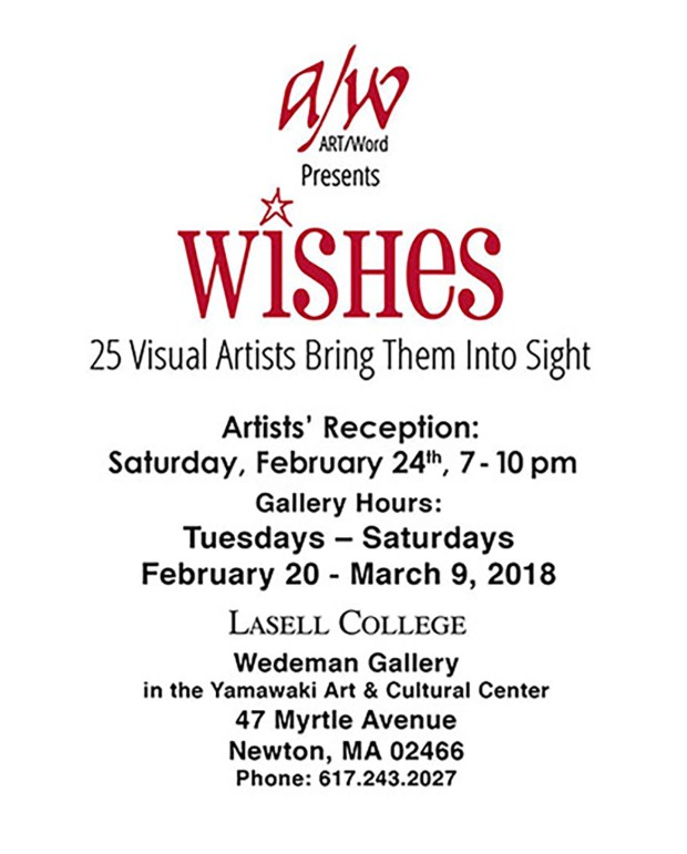 ART/WORD presents: WISHES | wedeman gallery